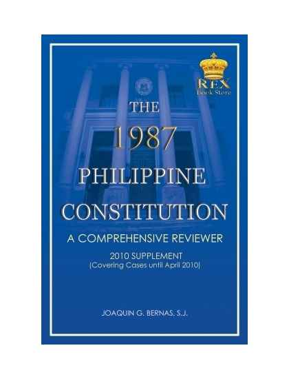 The 1987 Philippine Constitution Supplement