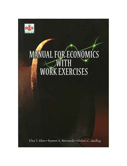 Manual for Economics with Work Exercises