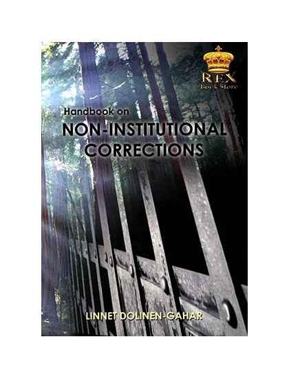 Handbook on Non-Institutional Corrections