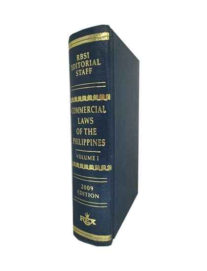 Commercial Laws - Volume I (P/S)
