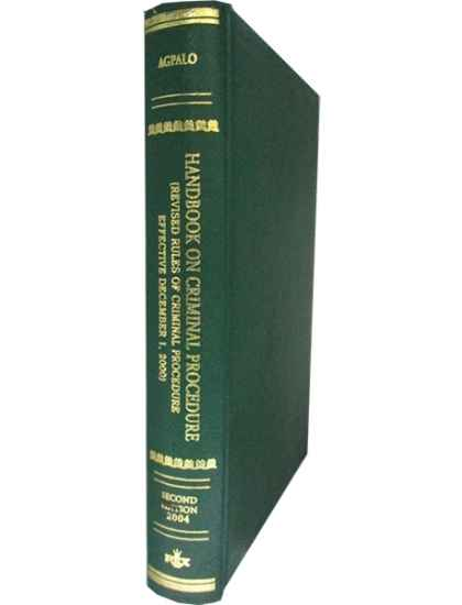 Handbook on Criminal Procedure
