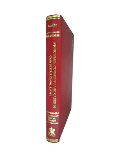 Principles, Comments and Cases in Constitutional Law Vol. I