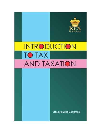 Introduction to Tax and Taxation (New)