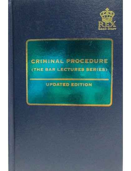 Updated Criminal Procedure (The Bar Lecture Series)