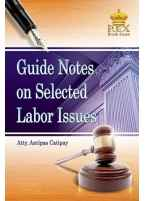 Guide Notes on Selected Labor Issues [Paperbound]