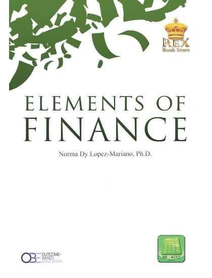 ELEMENTS OF FINANCE (OBE Aligned)