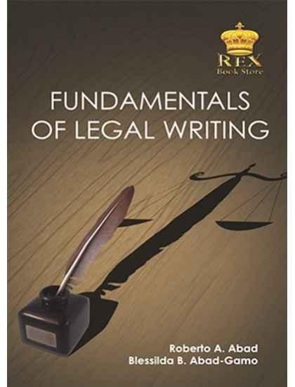 Fundamentals of Legal Writing