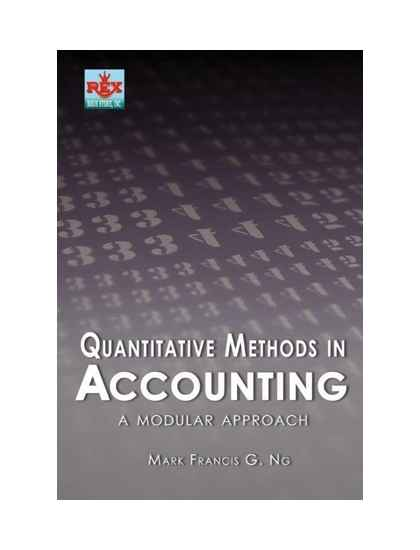 Quantitative Methods in Accounting: A Modular Approach
