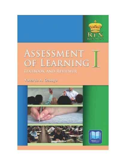 Assessment of Learning I