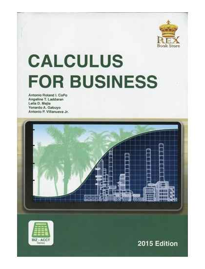 Calculus for Business