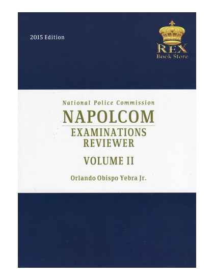 NAPOLCOM Examinations Reviewer Volume 2