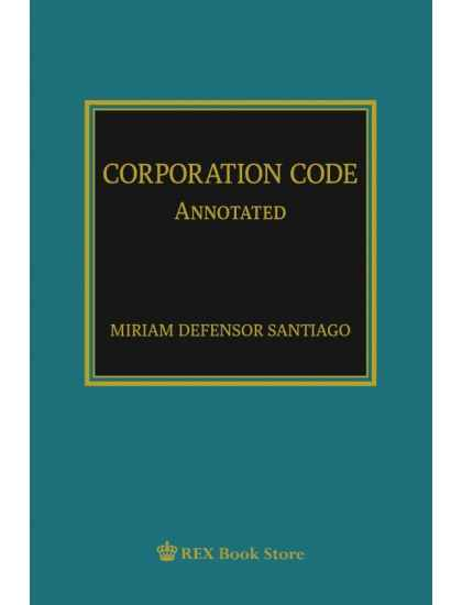 Corporation Code Annotated [Paperbound]