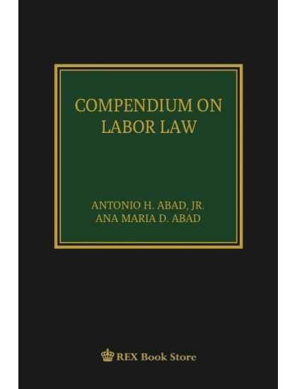 Compendium on Labor Law [Clothbound]