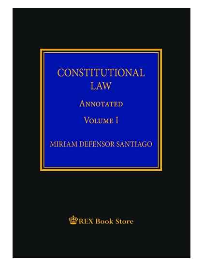 Constitutional Law Annotated Vol. I [Clothbound]