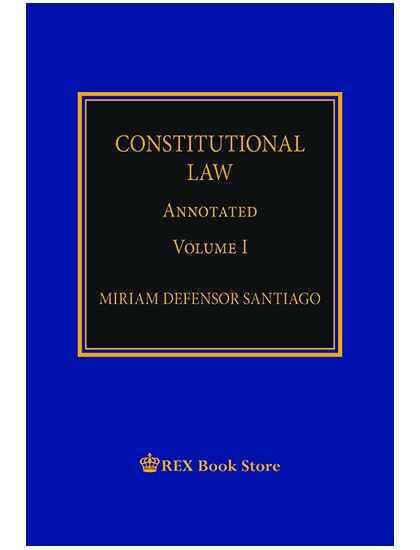 Constitutional Law Annotated Vol. I [Paperbound]