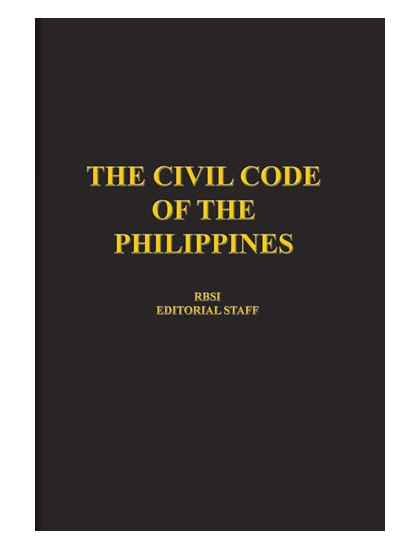 Civil Code of the Philippines (Pocket Size)