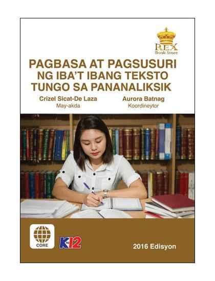 Pagbasa at Pagsusuri ng iba't Ibang Teksto Tungo sa Pananaliksik 11