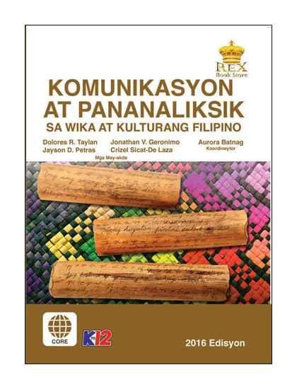 Komunikasyon at Pananaliksik sa Wika at Kulturang Filipino 11