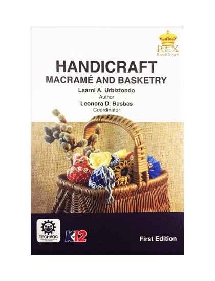 Handicraft (Basketry and Macrame) [ e-Book : PDF ]