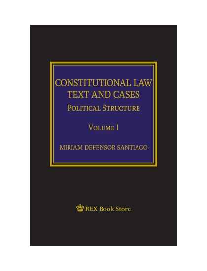 Constitutional Law Text and Cases Vol. I [CLothbound]