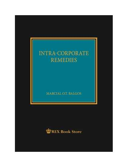 Intra-Corporate Remedies