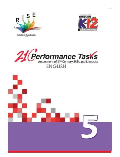 Performance Tasks English 5