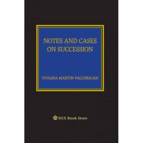 NOTES & CASES ON SUCCESSION (CLOTHBOUND)