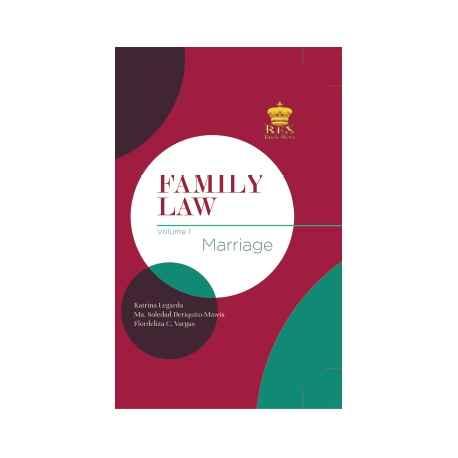 FAMILY LAW VOLUME I (CLOTHBOUND)