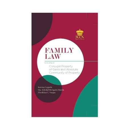 FAMILY LAW VOLUME II (CLOTHBOUND)