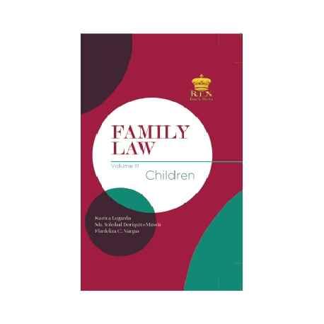 FAMILY LAW VOLUME III (CLOTHBOUND)
