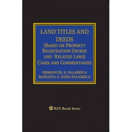 LAND TITLES AND DEEDS (CLOTHBOUND)