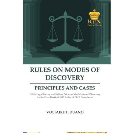 Rules on Mode of Discovery (PAPERBOUND)