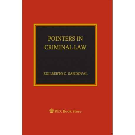Pointers in Criminal Law (PAPERBOUND)