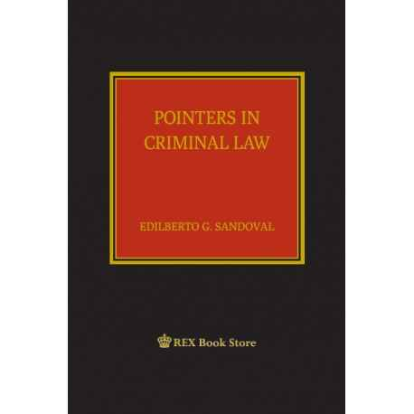 Pointers in Criminal Law (CLOTHBOUND)