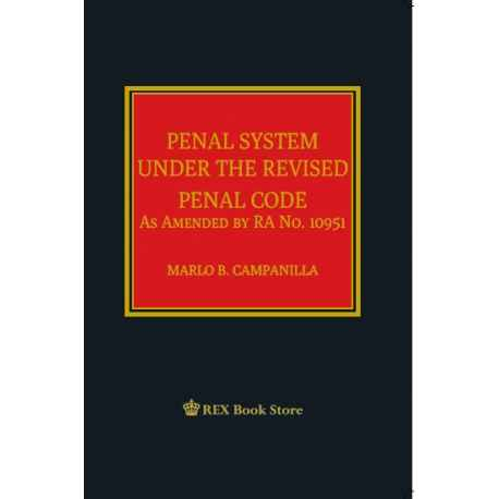 Penal System Under the Revised Code (Cloth Bound)