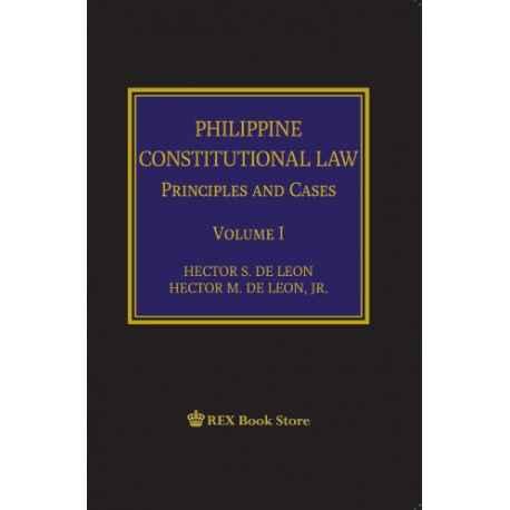 Philippine Constitutional Law Volume I (Cloth Bound)