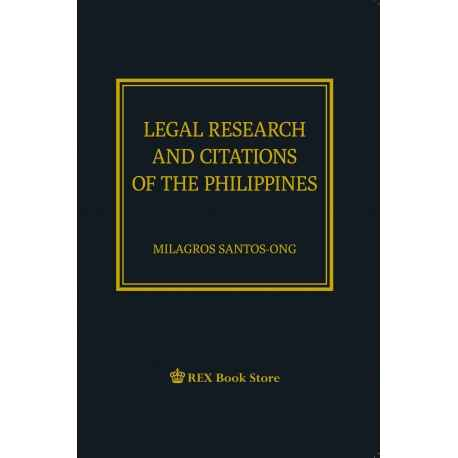 Legal Research and Legal Citations for the Philippines