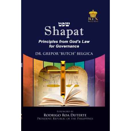 SHAPAT (Principles from God's Law for Governance (Paper Bound)