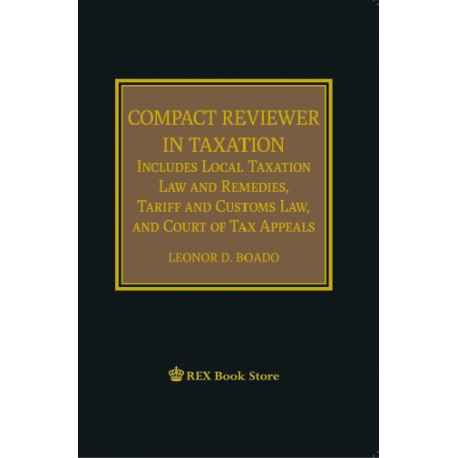 Compact Reviewer in Taxation (Cloth Bound)