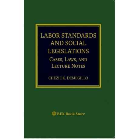 LaborStandards and Social Legislations (Paper Bound)