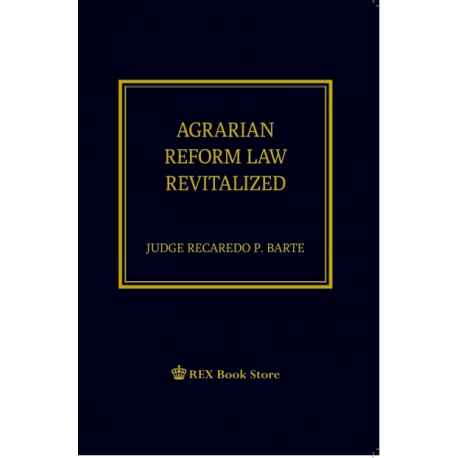 Agrarian Reform Law Revitalized (Paper Bound)