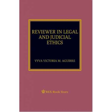 Reviewer in Legal and Judicial Ethics (Paper Bound)