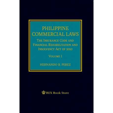 Phil Commercial Law Volume I 2019 Edition (Cloth Bound)