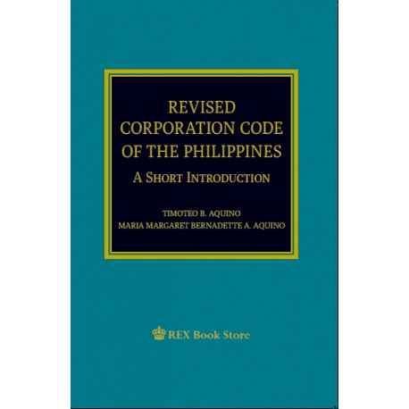 Revised Corporation Code of the Phils 2019 Edition (Paper Bound)