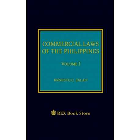 Commercial Laws of the Philippines Volume I P/S (2019)