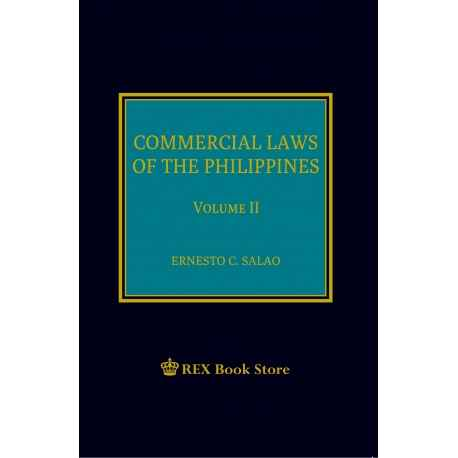 Commercial Laws of the Philippines Volume II P/S (2019)