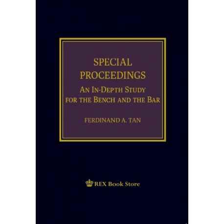Special Proceedings 2019 Edition (Cloth Bound)