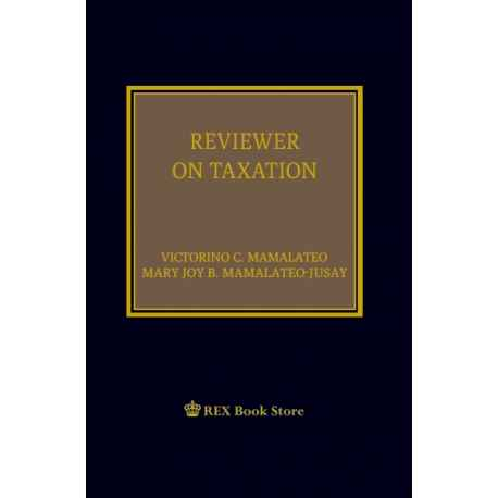 Reviewer on Taxation