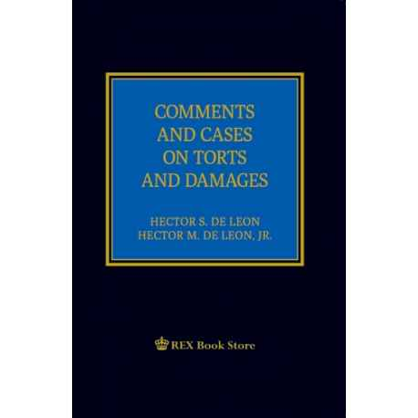 Comments & Cases on Torts & Damages