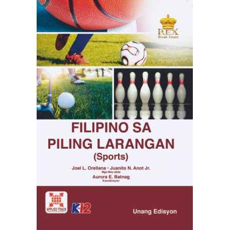 Filipino Sa Piling Larangan (Sports) 2017 1st Edition